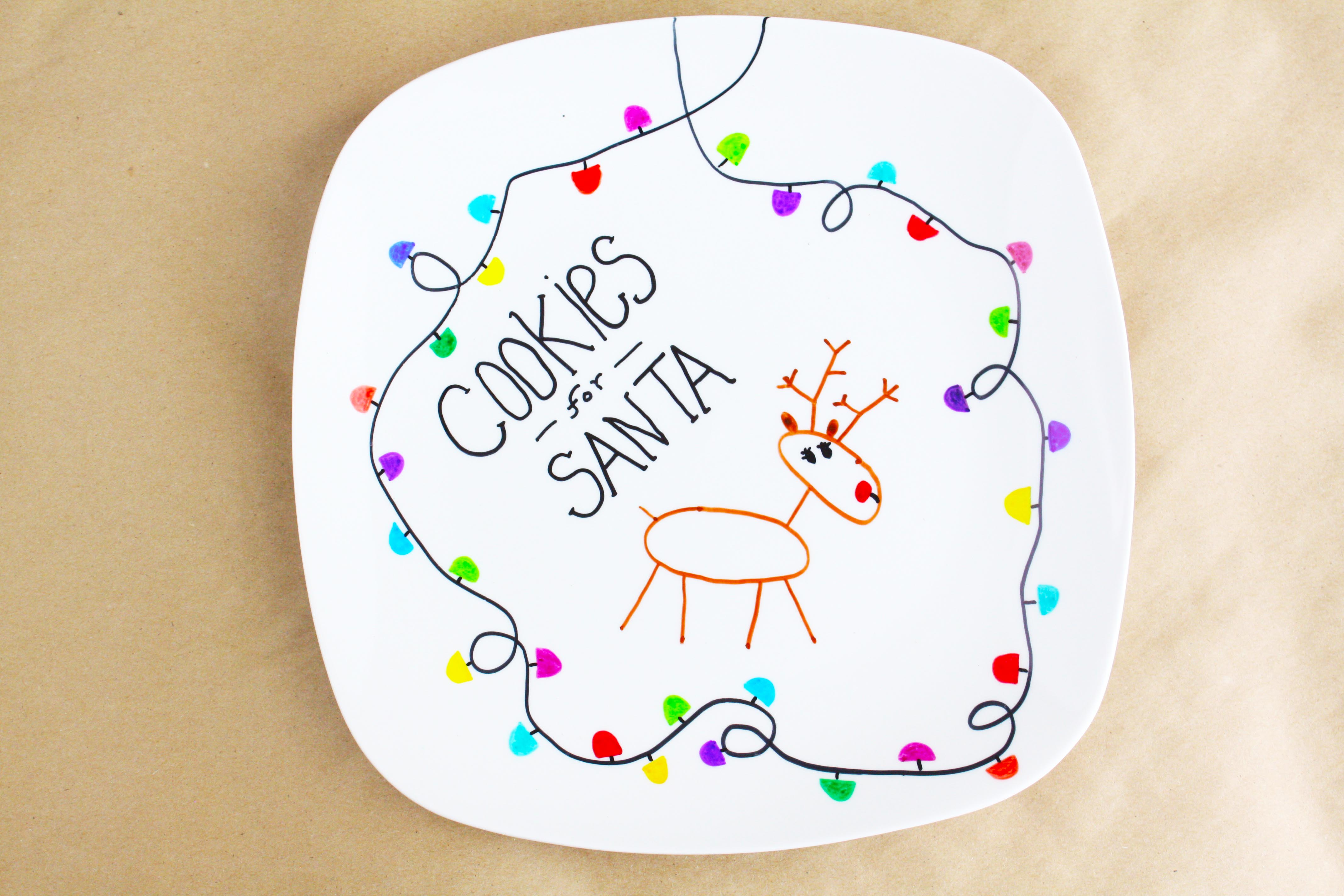 Personalized Christmas Plate